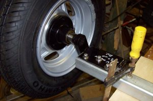 Russ's Explorer Box Axle