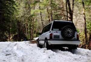 Compact Camping at Sardine Creek Snow Drifts!